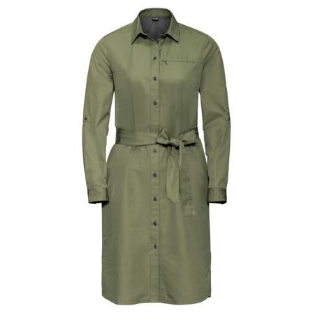 Jack Wolfskin Lakeside Dress Women dresses Green XL