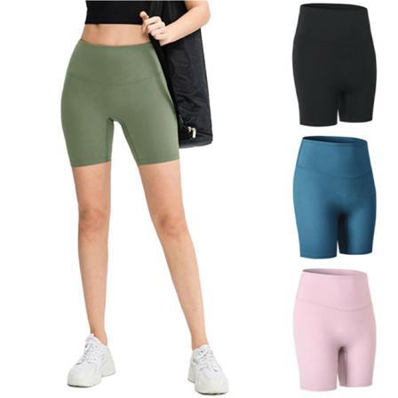 Kvinnor Gym Legging Sports Fitness Running Skinny Yoga Short Pants Black Xl