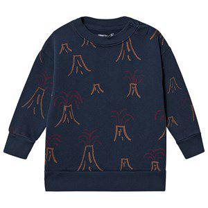 Bobo Choses Volcano Sweatshirt Estate Blue