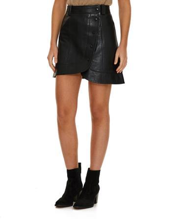 Ganni Skirt Lamb Leather 44