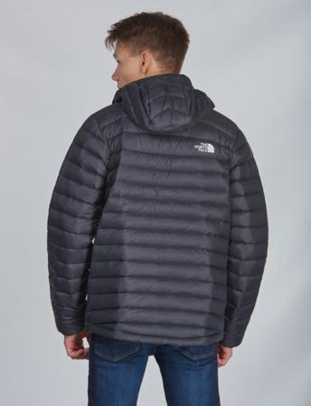 The North Face, ACONCAGUA DOWN HOODIE, Svart, Jakker/Fleece för Gutt, S