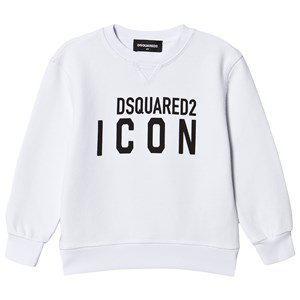 DSquared2 White Icon Logo Sweatshirt