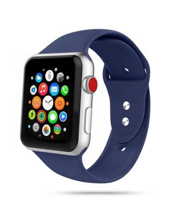 Armband • Apple Watch 1/2/3/4/5/6/SE (42/44MM) • Icon • Mörkb...