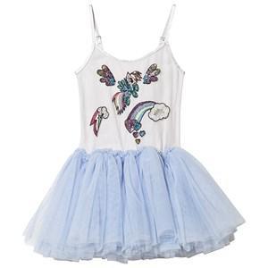 Tutu Du Monde Wonderbolt Tutu Klänning Powder Blue 10-11 years - Barn - Tyllklänningar   Blå