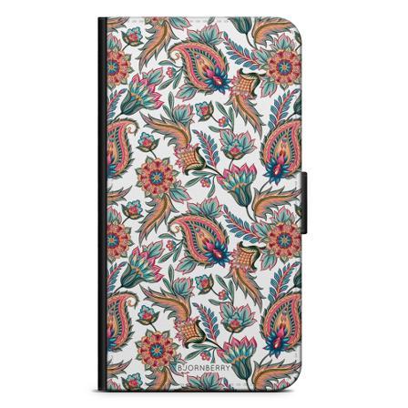 Bjornberry Plånboksfodral iPhone 12 Mini - Paisley