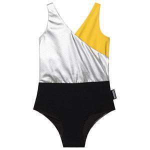 NUNUNU Tricolor Swimsuit Black
