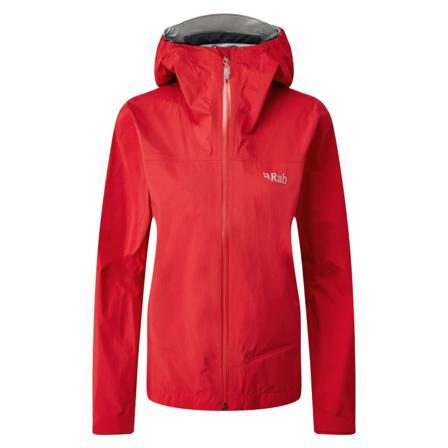 Rab Women's Meridian Jacket Women shell jackets Red UK 14