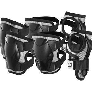 STIGA kyddset Komfort 3-pack - Barn - Hjälmar och säkerhetsutrustning   Svart