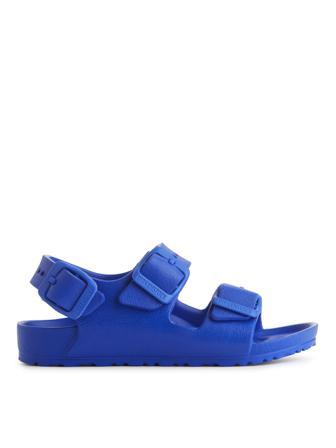ARKET - Children's Birkenstock Milano Kids EVA Sandals - Blue - Size 34