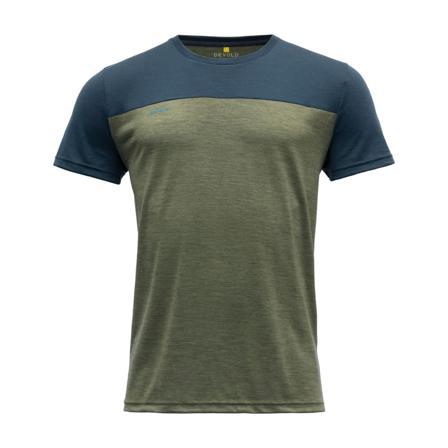 Devold Norang Man Tee Men short-sleeved sweaters Green XL