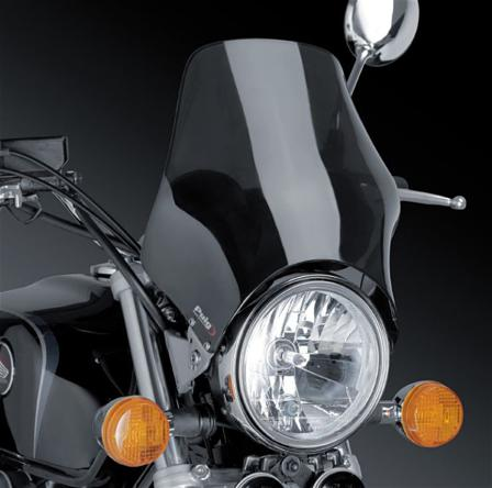 Modelo Naked Pare-Brise Noir - Yamaha SR 250 1996-2001
