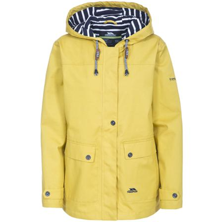 Trespass Jassen Dames Jackets Womens/ladies Seawater Waterproof Jacket Katoen/katoen/katoen/katoen/katoen Size Medium Goud