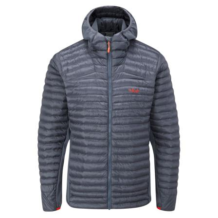 Rab Men's Cirrus Flex 2.0 Hoody Men middle-layer synthetic jackets Grey LARGE