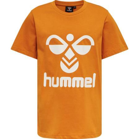 hummel Children's hmlTRES T-SHIRT S/S Children short-sleeved sweaters Yellow 140