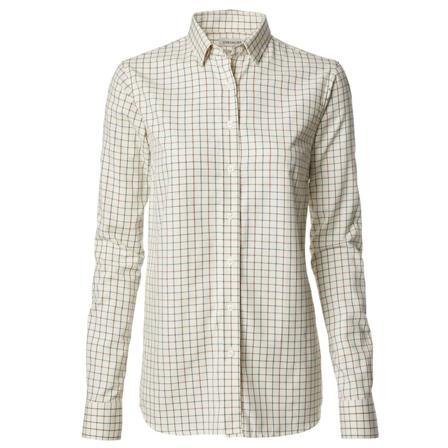 Chevalier Women's Scaleby Shirt Women long-sleeved shirts White 42W