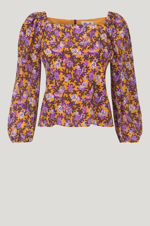 Køb Toppe & Bluser fra Baum und Pferdgarten. Merlina Blouse str: 38. Farve: Paris Flower Sunshine. Køb på www.baumundpferdgarten.com eller i vores