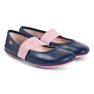 Camper Right Ballerina Shoes Blue kids footwear 33 (UK 1)