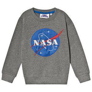 Fabric Flavours NASA Logo Sweatshirt Grey