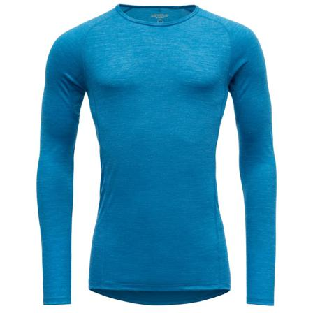 Devold Running Man Shirt Men long-sleeved training tops Blue M
