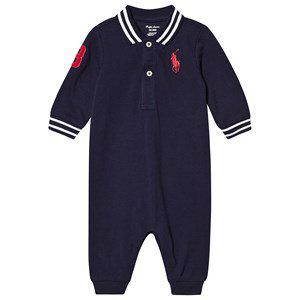Ralph Lauren Polo Player One-Piece Navy