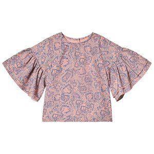 How To Kiss A Frog Jazy Blouse Pink Snake