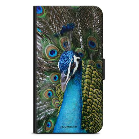 Bjornberry Plånboksfodral iPhone 12 - Påfågel