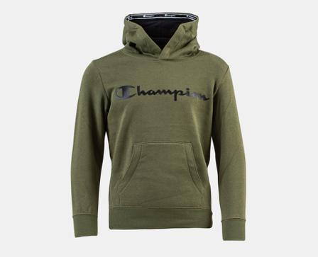 Champion Jr Hooded Sweatshirts - Grønn - unisex - Klær - XL