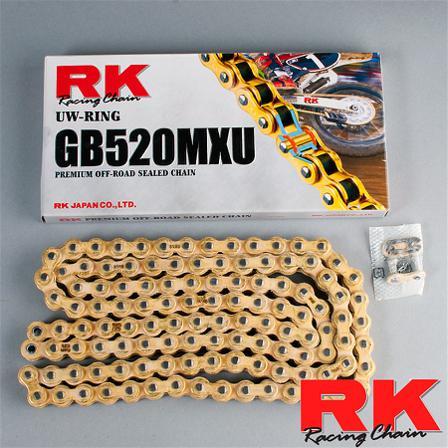 RK 520MXU light weight chain - KTM 250 EXC-F 2007-2019