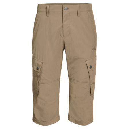Jack Wolfskin Men's Desert Valley 3/4 Pants Men hiking trousers Beige 58