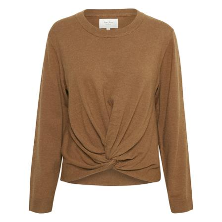 Part Two, blouse Bruin, Dames, Maat:S