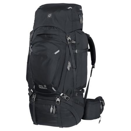 Jack Wolfskin Denali 75 Men hiking backpacks Black OneSize