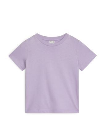 Crew-Neck T-shirt - Purple