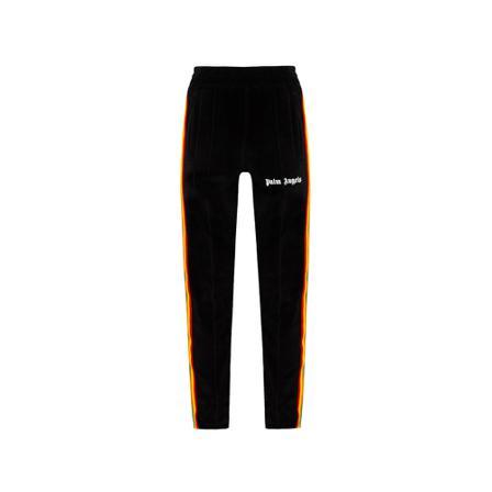 Palm Angels Sweatpants with logo , Svart, Herr, Storlek: M