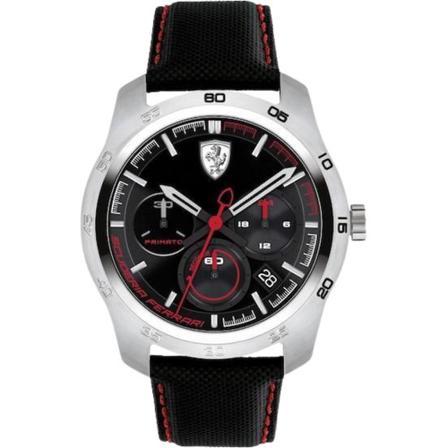Ferrari Watch 830444 Klockor , Svart, Herr, Storlek: ONESIZE