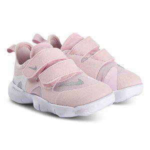 NIKE Free RN 5.0 Infant Sneakers Pink Foam/Silver Metallic Barnskor 26 (UK 8.5) - Löparskor   Rosa