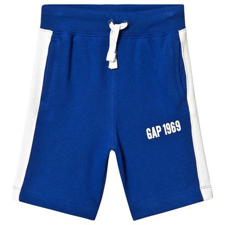 Gap Logo Shorts Brilliant Blue XL (12-13 år) Barnkläder, Shorts, Mjukisshorts