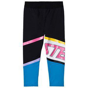 Stella McCartney Kids Sport Branded Leggings Black