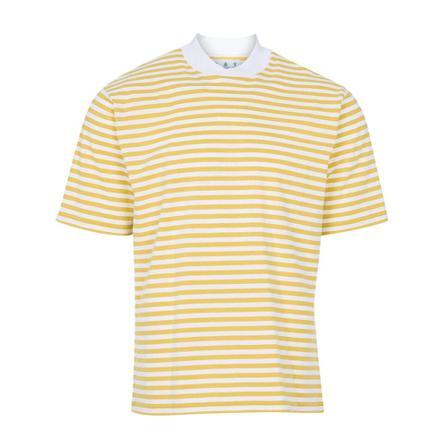 Barbour T-shirt , Gul, Herr, Storlek: S