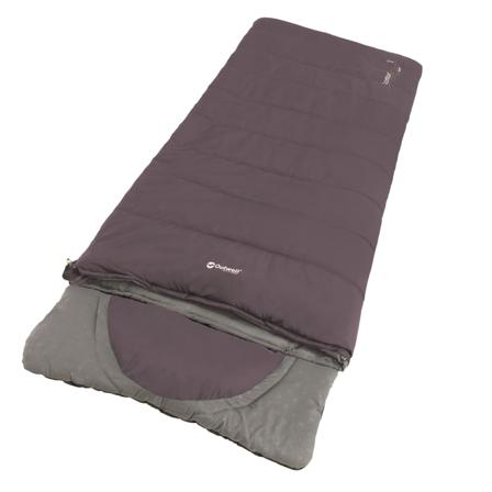 Outwell Contour synthetic sleeping bags Purple Right Zip