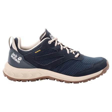 Jack Wolfskin Women's Woodland Texapore Low Women hiking shoes Blue 35,5