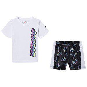 Air Jordan White T-shirt and Short Set