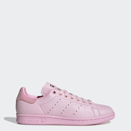 adidas Sneakers Dam sneakers stan smith shoes läder/gummi/ovantextil sko size 40 Läder/Gummi/Ovantextil Rosa