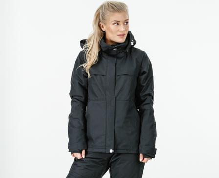 Wear Colour Base Jacket - Svart - female - Klær - L