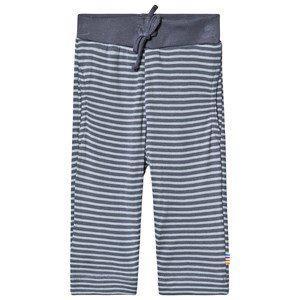 Joha Randiga Byxor 80 cm (9-12 mån) - Barn - Mjukisbyxor   Blå