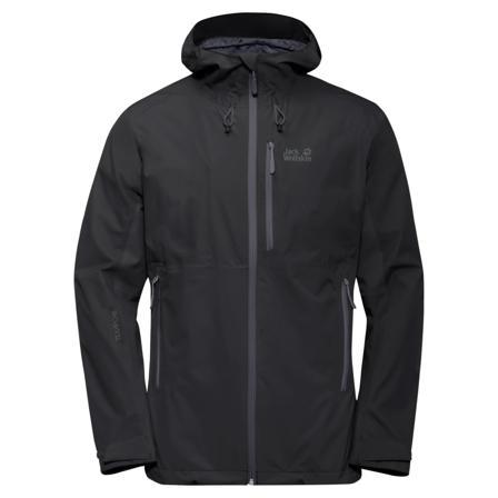 Jack Wolfskin Men's Eagle Peak Jacket Men shell jackets Black XL