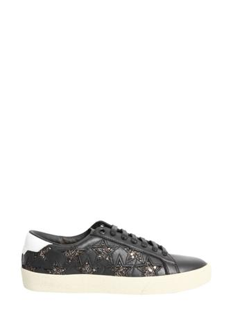 Saint Laurent Sneakers Dam Women's Leather Läder Size 36.5 Svart