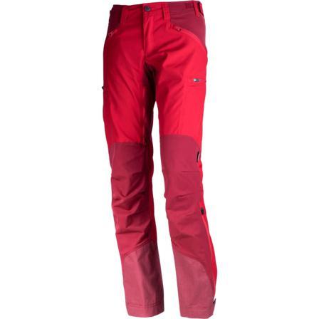 Lundhags Makke Women's Pant Women hiking trousers Red 34 Regular