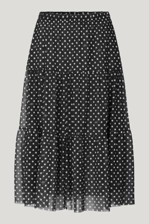 Køb Shorts & Nederdele fra Baum und Pferdgarten. Jucile Skirt str: M. Farve: Black BP Dot. Køb på www.baumundpferdgarten.com eller i vores butik i