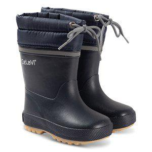 Celavi Thermal Rain Boots Navy