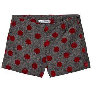 Dr Kid Grey and Red Spotted Shorts